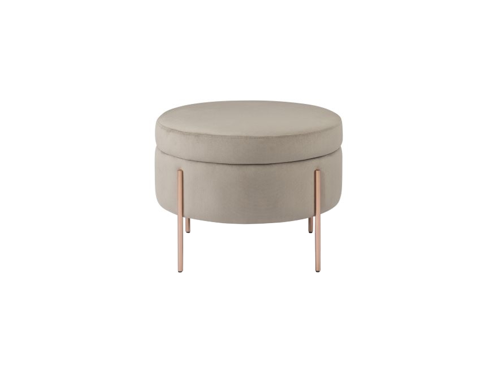 Estrutura em aço inox polido ou pintado e assento multilaminado revestido em tecido Medidas: 0,60 x 0,44